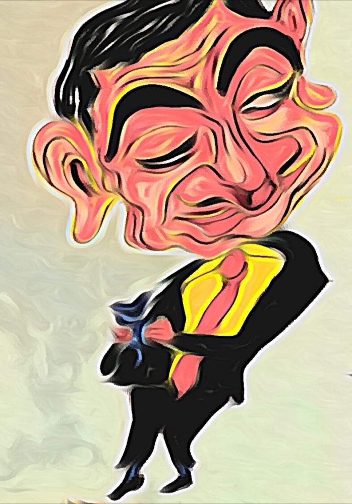 Rowan Atkinson by vinodnair